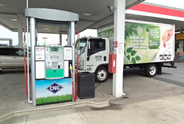 Electrical Vehicle as a Threat to CNG Business