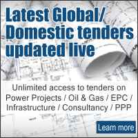 Latest Global/Domestic tenders updated live