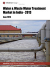 Water & Waste Water Treatment Market in India-2013